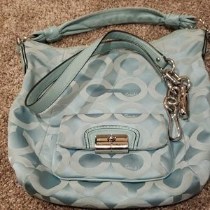 Boho Coach purse
